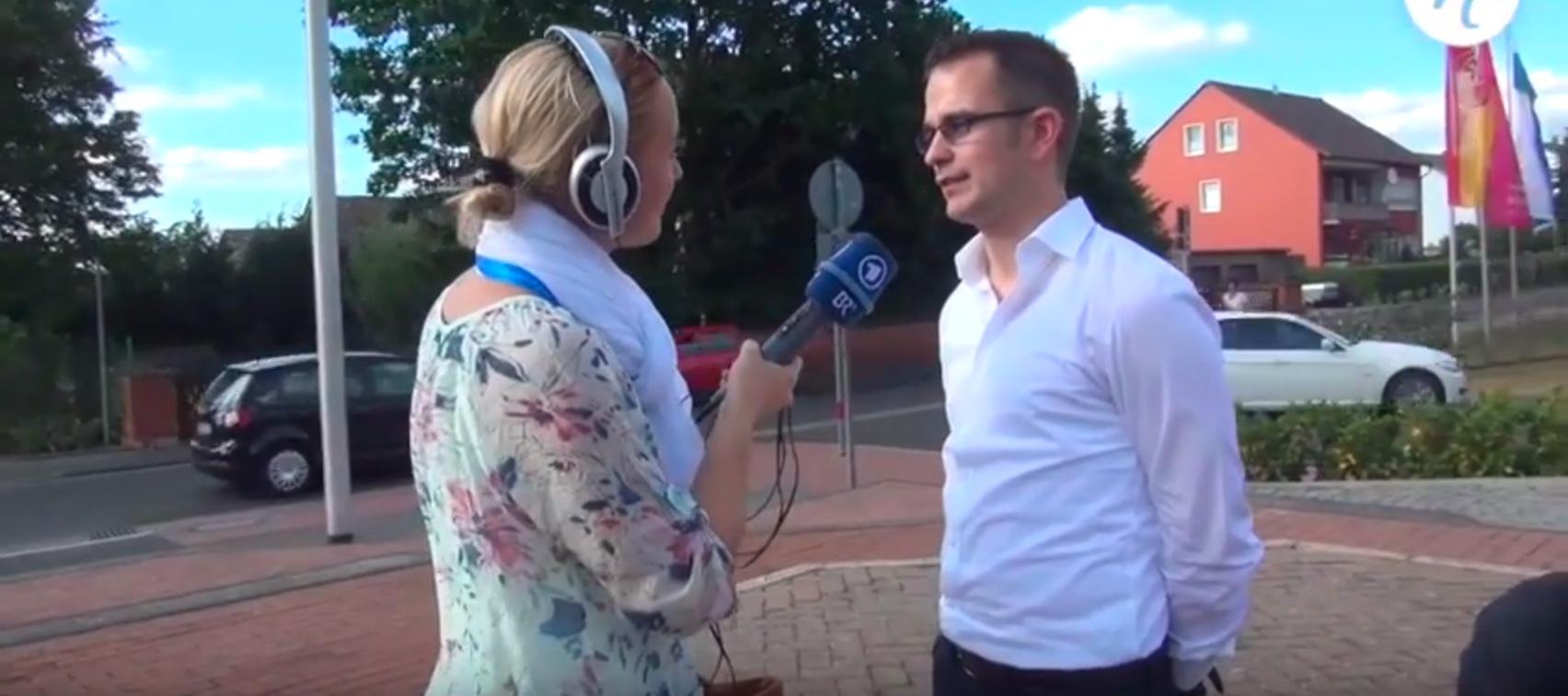 Interview BR, Dirk Mattes Komponist -Dirigent - Dozent, Aufführung Frabaya