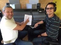 """""""Für immer böhmisch"""" Studio Alexander Pfluger, Kinzbach Musikanten Andy Schreck, Dirk Mattes Tontechniker"""